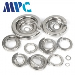 304 stainless steel spring washer spring washer GB93 open spring washer M3M4M5M6-M24 series spring washer