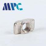 T-nut 45 aluminum profile special accessories M8 nut made of nickel-plated material, stable